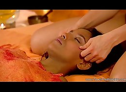 MILF Brunette Offers a Good Massage