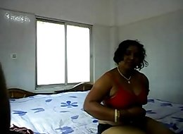 Fat But Very Horny Desi Auntie Getting Fucked By Her Young Lover